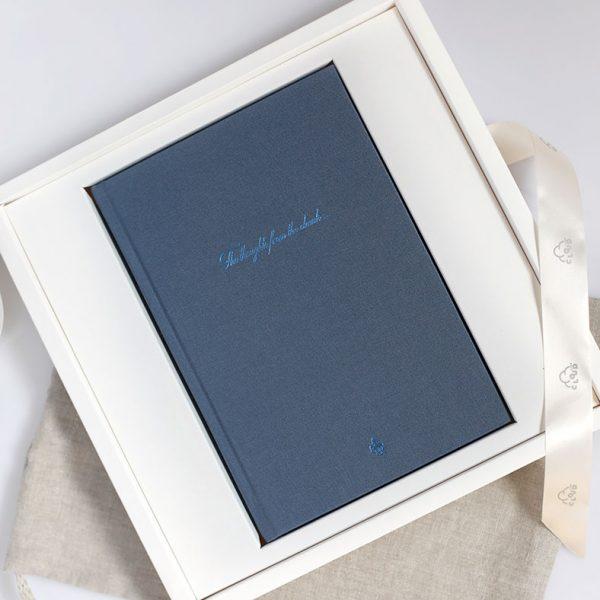 Darbo knyga tekstiliniu viršeliu KARALIŠKASIS AŠTUONKOJIS A5 formatas dėžutėje