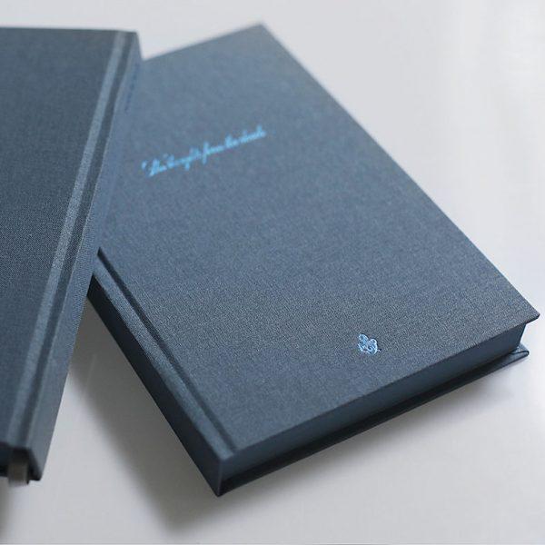 Darbo knyga tekstiliniu viršeliu KARALIŠKASIS AŠTUONKOJIS A5 formatas