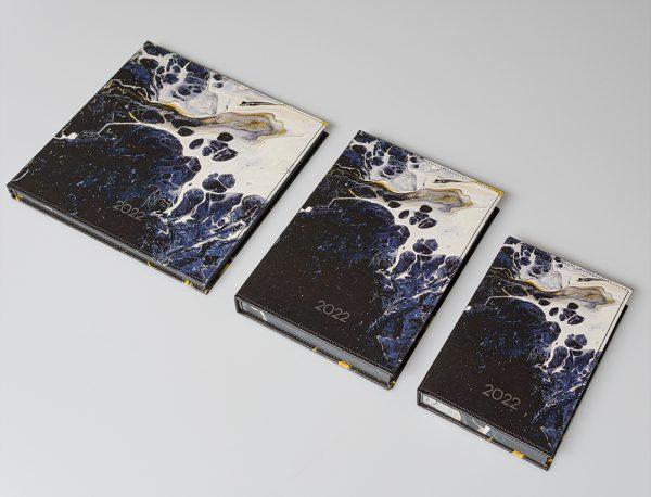 Darbo knyga kietu odiniu viršeliu RAMUSIS VANDENYNAS