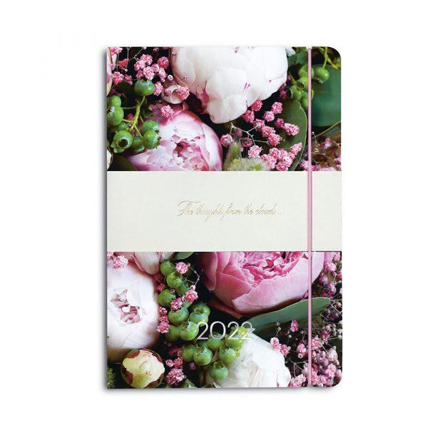 Darbo knyga minkštu odiniu viršeliu ŽYDINTIS SODAS (A5 formatas)