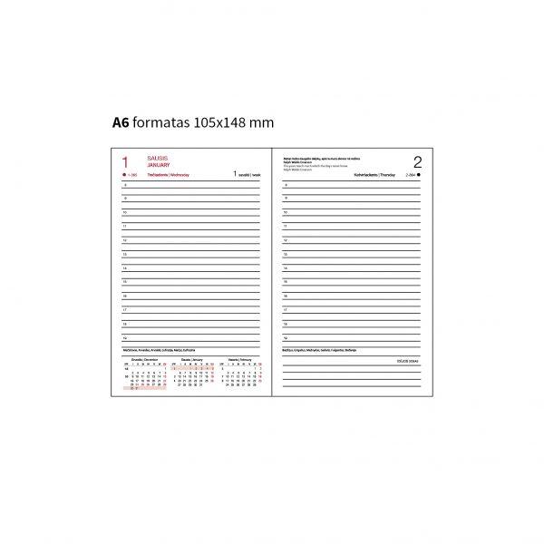 Darbo knygos lapeliai (A6)