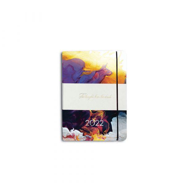 Darbo knyga minkštu odiniu viršeliu INDIJOS VANDENYNAS (A6)