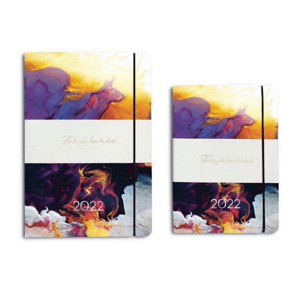 Darbo knyga minkštu odiniu viršeliu INDIJOS VANDENYNAS (A5, A6)