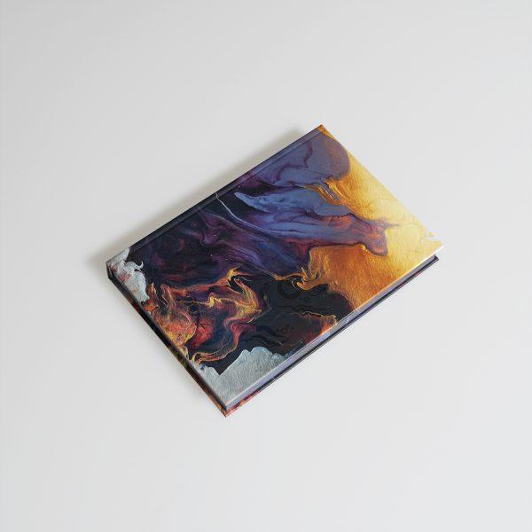 Darbo knyga popieriniu viršeliu INDIJOS VANDENYNAS A5