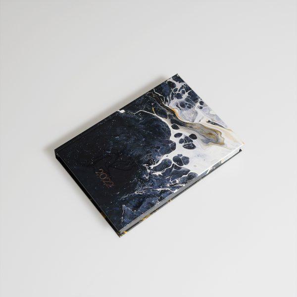 Darbo knyga popieriniu viršeliu RAMUSIS VANDENYNAS A5