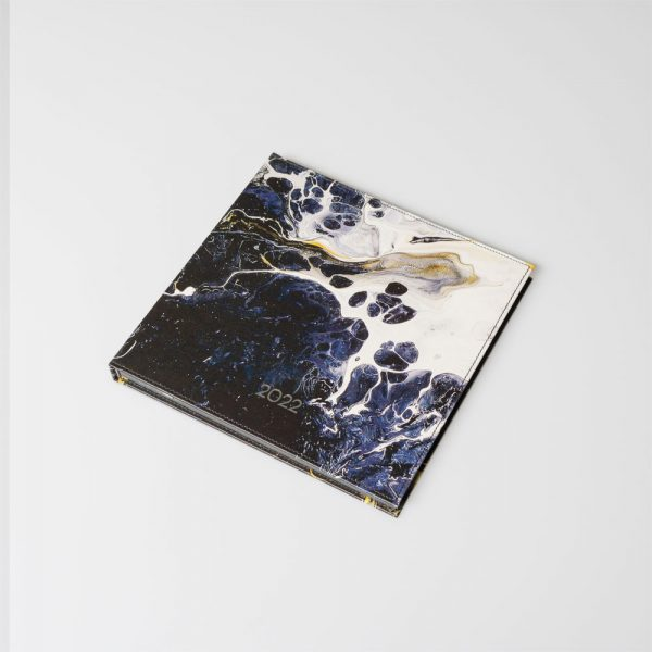 Darbo knyga kietu odiniu viršeliu RAMUSIS VANDENYNAS (kvadratas)