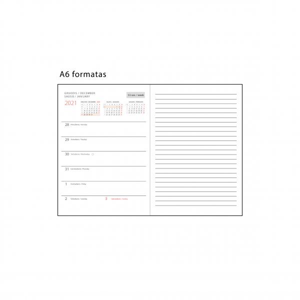 Darbo knygos lapeliai (A6 formatas)