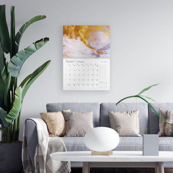 Sieninis kalendorius PIETŲ VANDENYNAS