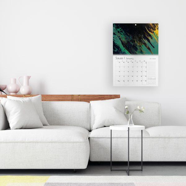 Sieninis kalendorius ATLANTO VANDENYNAS